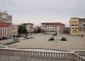 Лясковец площада